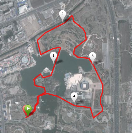 People's Run 5KM Route