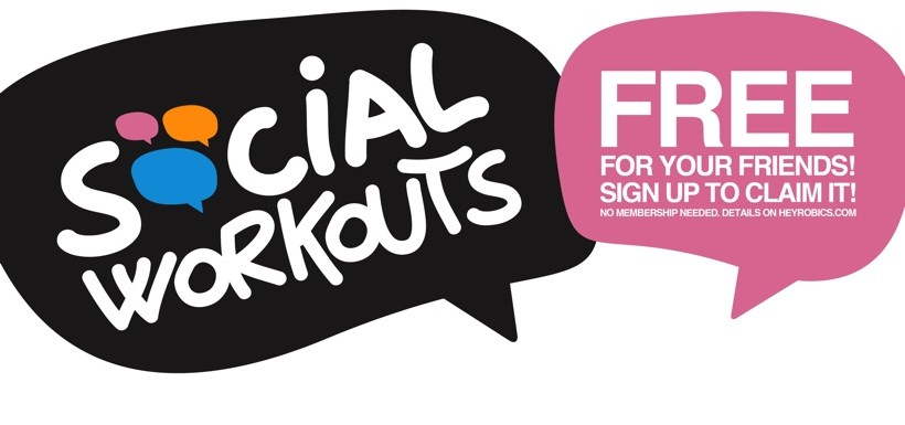 SOCIAL WORKOUT WEDNESDAY!